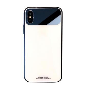 极步苹果手机壳iphone玻璃壳抖音款