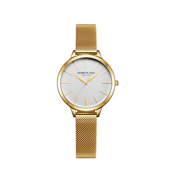 Kenneth Cole时尚米兰钢织带女士手表