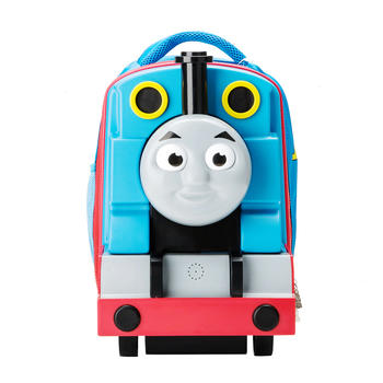 托马斯3D儿童发声双肩书包送电池