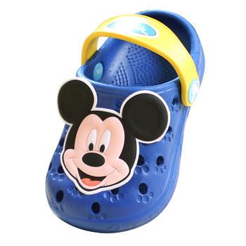 迪士尼夏季宝宝防滑洞洞鞋 小童