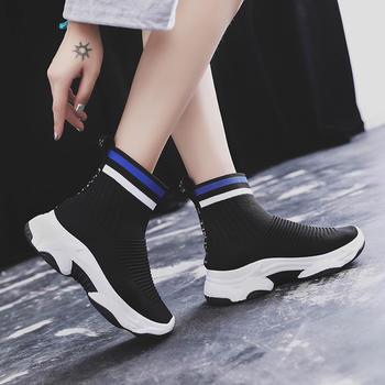 ADK新款韩版原宿街舞网红袜子鞋