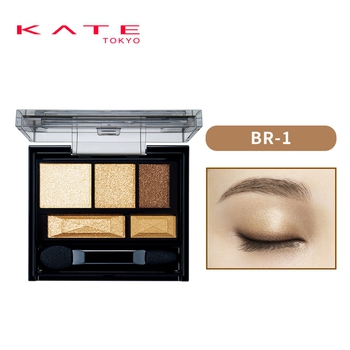凯朵棕影双效立体眼影盒