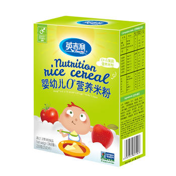 英吉利DHA果蔬多维米粉225g单盒