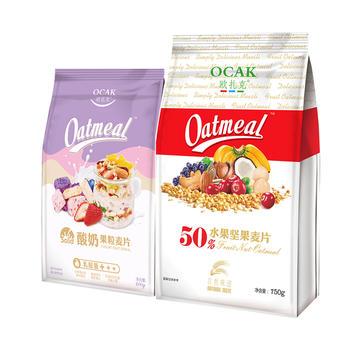 欧扎克酸奶麦片干吃水果坚果麦片组合1150g