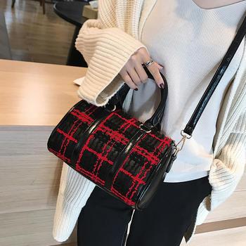 雅涵欧美时尚女包波士顿手提包包