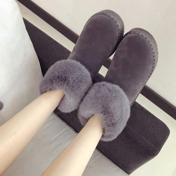 ADK雪地靴新款韩版棉鞋加厚保暖靴