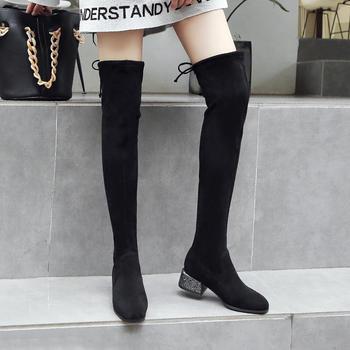 ZHR-韩版长筒靴过膝靴网红瘦瘦靴