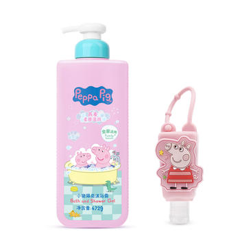 小猪佩奇燕麦沐浴露+洗手液 2件套