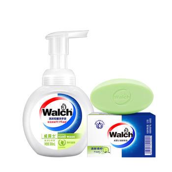 香皂125g+300ml泡沫洗手液味道随机