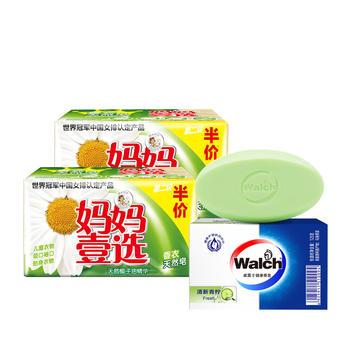 威露士香皂+妈妈壹选天然皂组合