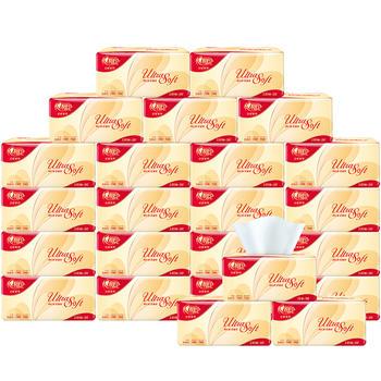 心相印红悦抽纸4提24包整箱装