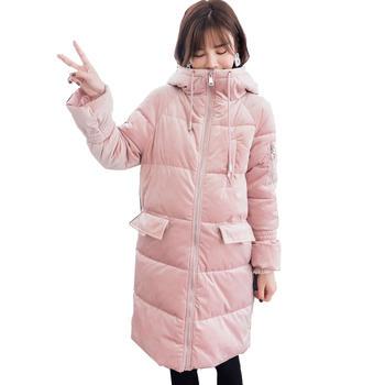 欧丽妈咪孕妇冬装加厚保暖棉衣