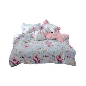 明瑟mingse全棉床单四件套那些花儿