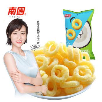 新品上市 南国椰子甜甜圈55gx2袋