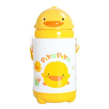 黄色小鸭滑盖保温·保冷水壶/420CC