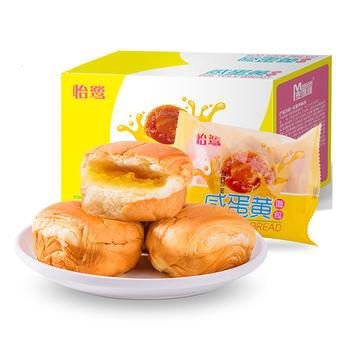 怡鹭咸蛋黄夹心面包480g/箱