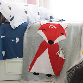维科VEKEN针织毯子全棉加厚盖毯