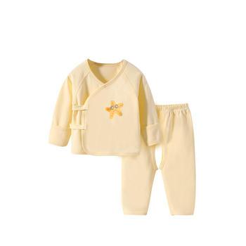 舒贝怡 0-3-6个月宝宝和尚服套装