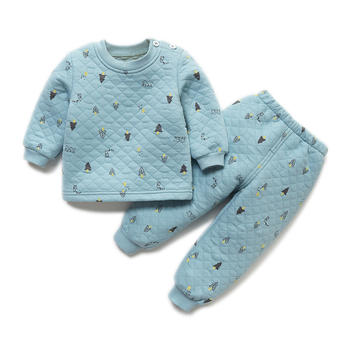 Cipango 新款宝宝保暖加厚内衣套装