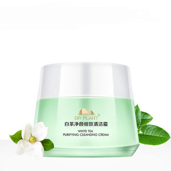 植物医生白茶净颜细致清洁霜90g 细致毛孔、清爽卸妆