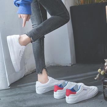 慕沫春秋单鞋韩版系带休?#24615;?#21160;鞋