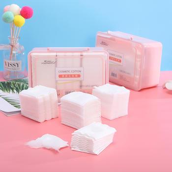 拉美拉 400片盒装三合一亲肤省水化妆棉多用卸妆棉片