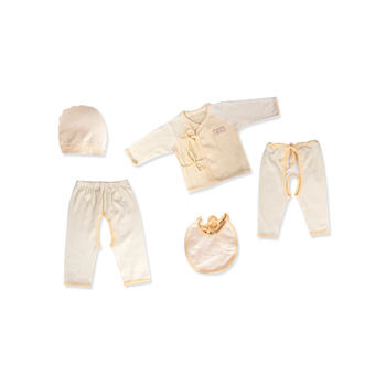 意嬰堡新生兒服飾5件套