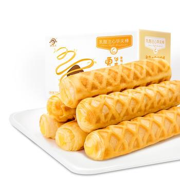 姚太太乳酪注心华夫棒720g软面包