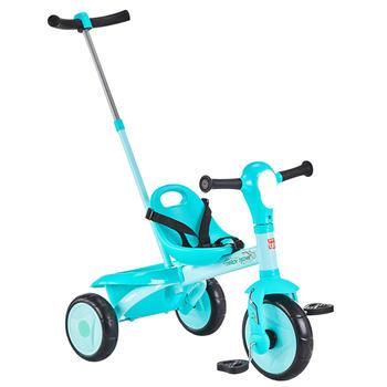 gb好孩子儿童三轮车遛娃脚踏车