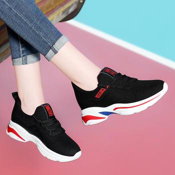 冬季新款运动鞋女士韩版跑步鞋
