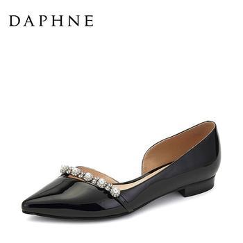 Daphne/达芙妮休闲平底单鞋1017102021