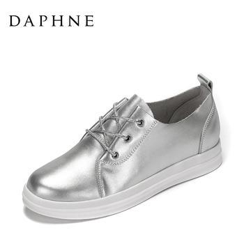Daphne/达芙妮厚底小白鞋1017101018
