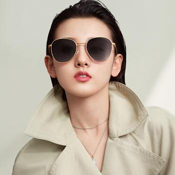 帕森太阳镜女宋祖儿明星同款圆框墨镜时尚潮流开车墨镜8202