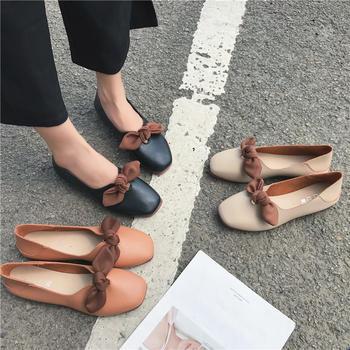 慕沫女鞋2019新款春季单鞋浅口鞋