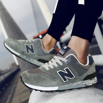 New Barlun纽巴伦春季男女运动鞋N字跑步复古休闲鞋