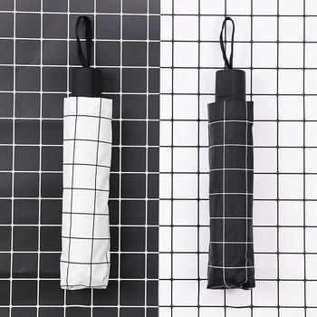 态美 巴黎铁塔折叠雨伞黑胶防晒遮阳伞晴雨两用伞