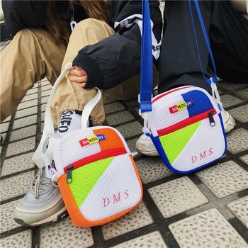 萨兰丹迪日韩街拍斜挎包男女背包单肩包网红嘻哈小包