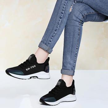 女潮新款春季网红女鞋休闲运动鞋