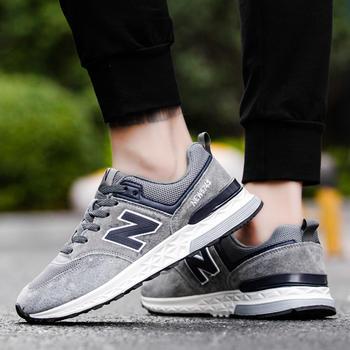 New Barlun纽巴伦春季运动男女跑步鞋耐磨防滑透气时尚