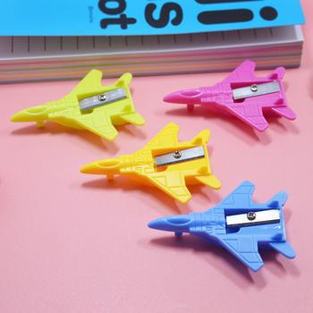 态美 卷笔刀削笔刀创意飞机造型铅笔刀卡通迷你玩具