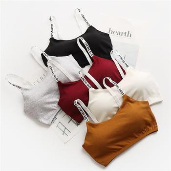 茜樱思 2件装 吊带棉?#39280;?#38050;圈运动?#30007;?#25273;胸 多色可选