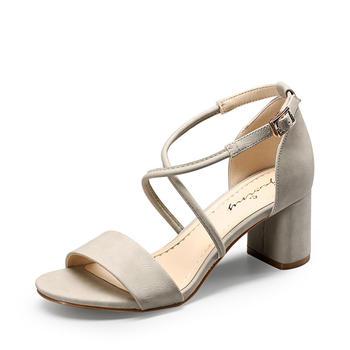 卓诗尼凉鞋女新款高跟?#25351;?#36890;勤风女鞋