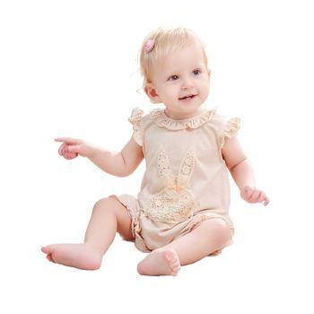 谷斐尔GOPHER短袖轻薄夏日连体衣婴儿纯棉宝宝幼儿哈衣
