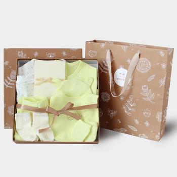 猪猪的故事新生儿礼盒套装衣服婴儿用品套装礼包夏