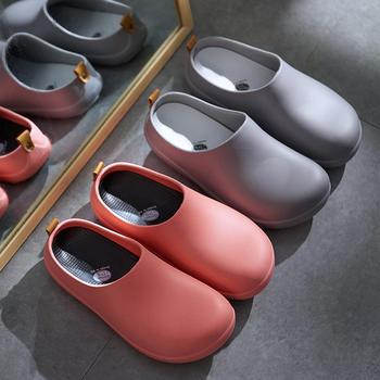 远港包头拖鞋手术室实验室加厚底安全拖鞋 轻便安全