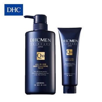 DHC男士多效合一净爽清洁套装滋养强韧修护改善