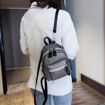 雅诗罗2019新款双肩背包女单肩包包时尚休闲小背包