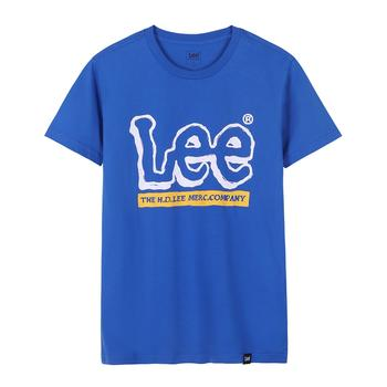 Lee 夏季新款男士圆领棉质短袖T恤L329912LQ8MD