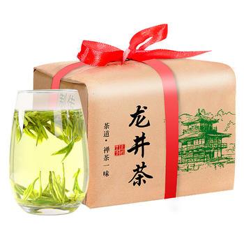 四月茶侬茶叶绿茶正宗浓香龙井茶春绿茶散装150g