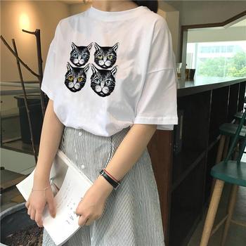 美丽后2019新款宽松韩版BF风T恤上衣百搭网红